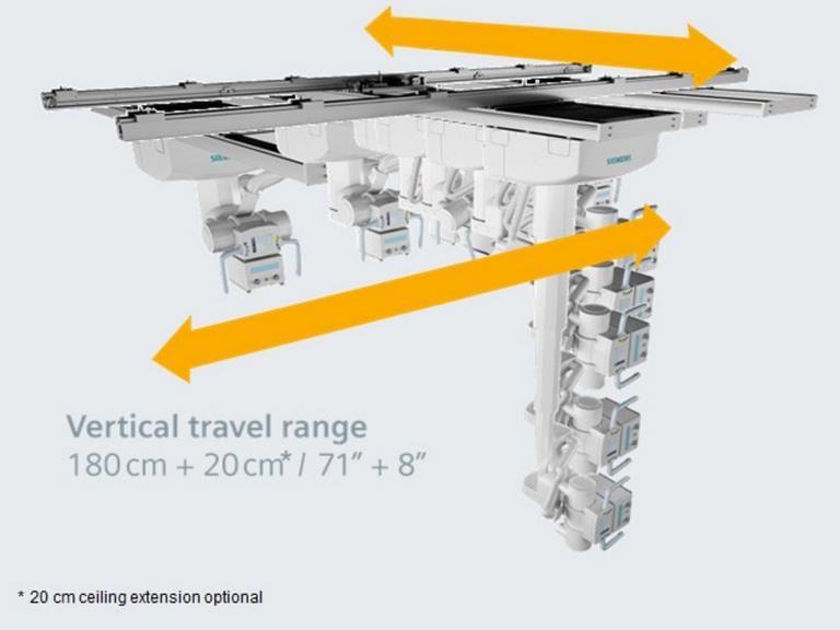 Siemens Multix Fusion - рентген система   Медицинское